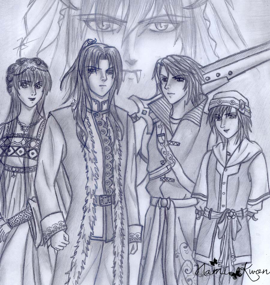 Anime Sketch Collection 11 by Nami Kwon | Zev Art | zevart ...